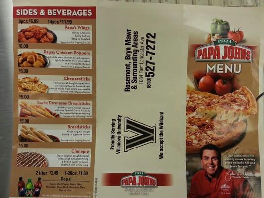 Papa John's Pizza - CLOSED - Pizza - 1084 E Lancaster Ave ...