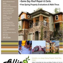 Photo Of Allied Roofing U0026 Contracting   Denver, CO, United States. Service  Flyer