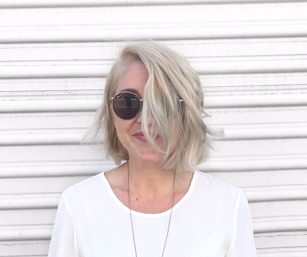 Hot blonde mama
