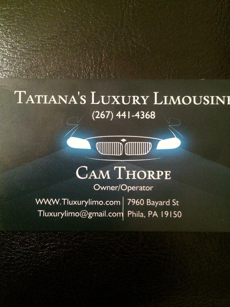 Tatiana's Luxury Limousine