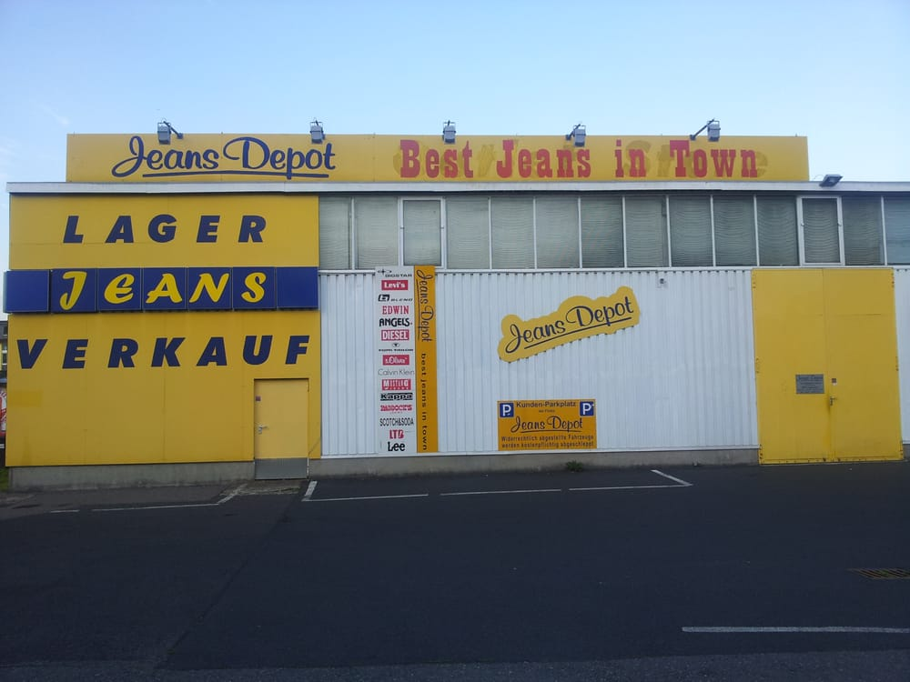 Jeans depot men 39 s clothing odenwaldring 86 offenbach for Depot ringcenter