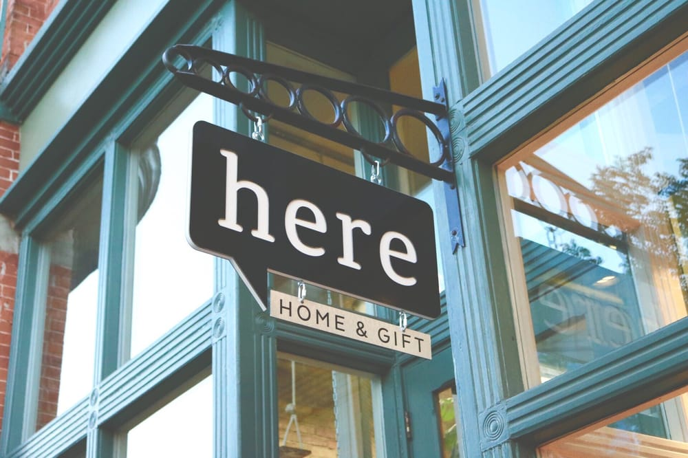 Here Home And Gift Home Decor 26 W Center St Provo Ut Phone Number Yelp