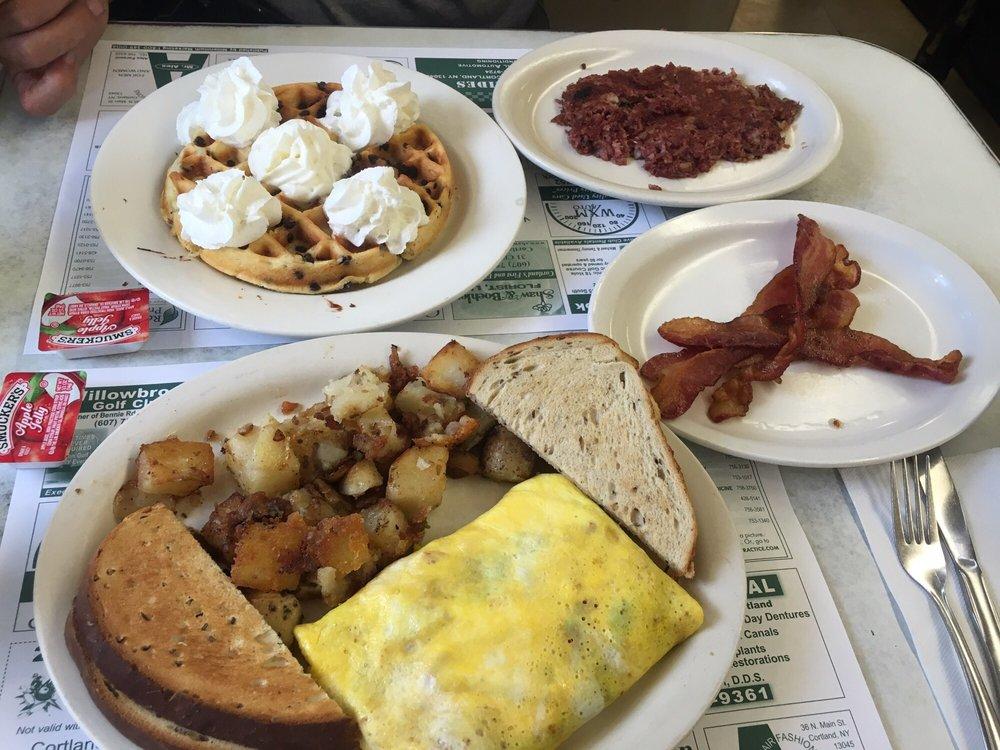 Frank & Mary's Diner: 10 Port Watson St, Cortland, NY