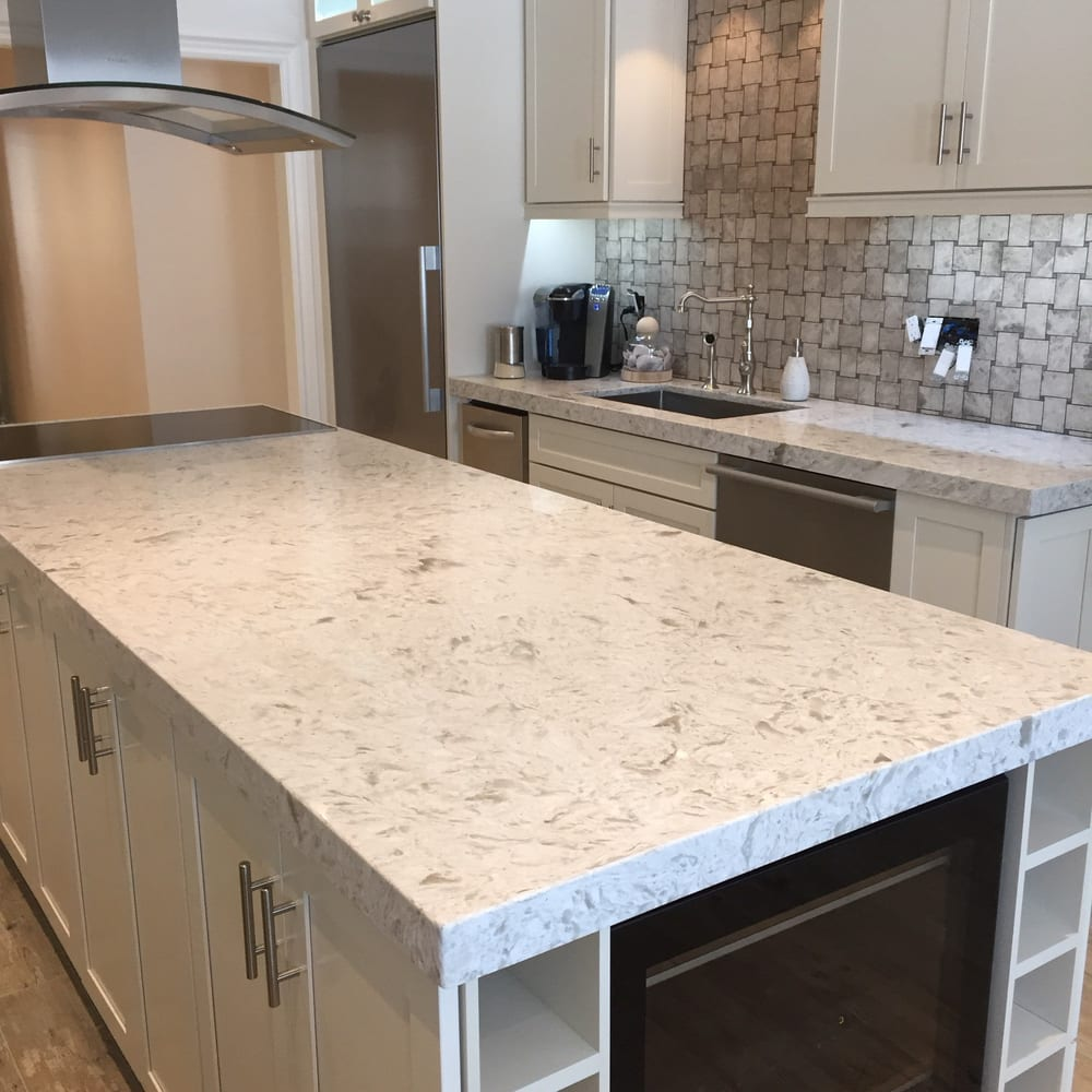 Quartz Kitchen Ideas: Countertop Installation
