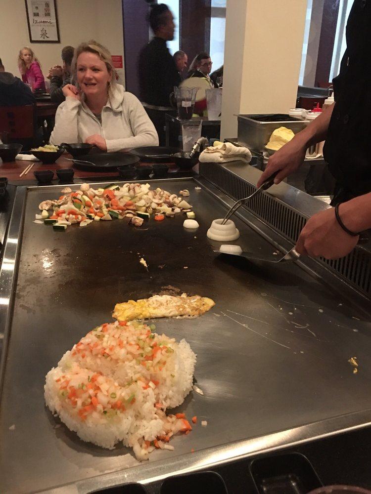 Izumi Japanese Steakhouse: 8125 SW Nyberg St, Tualatin, OR