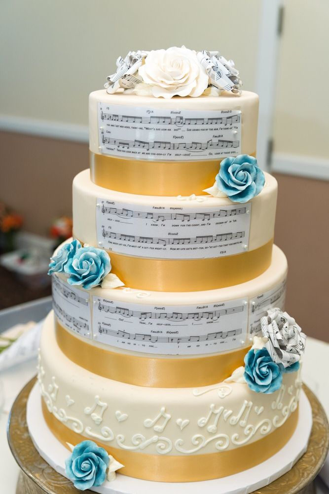 Our Music Themed Cake Yelp