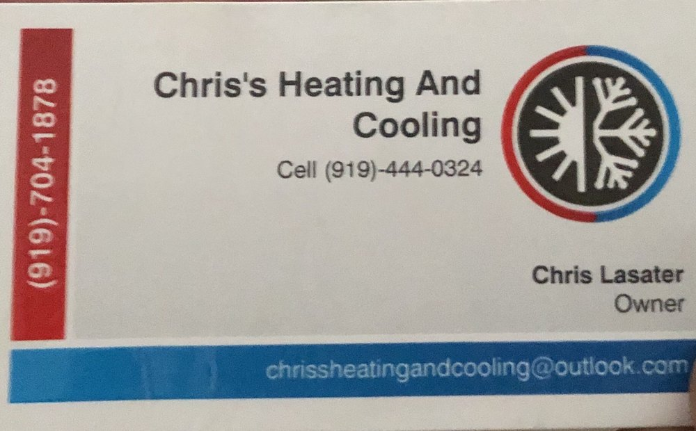 Chris' Heating And Cooling: Broadway, NC