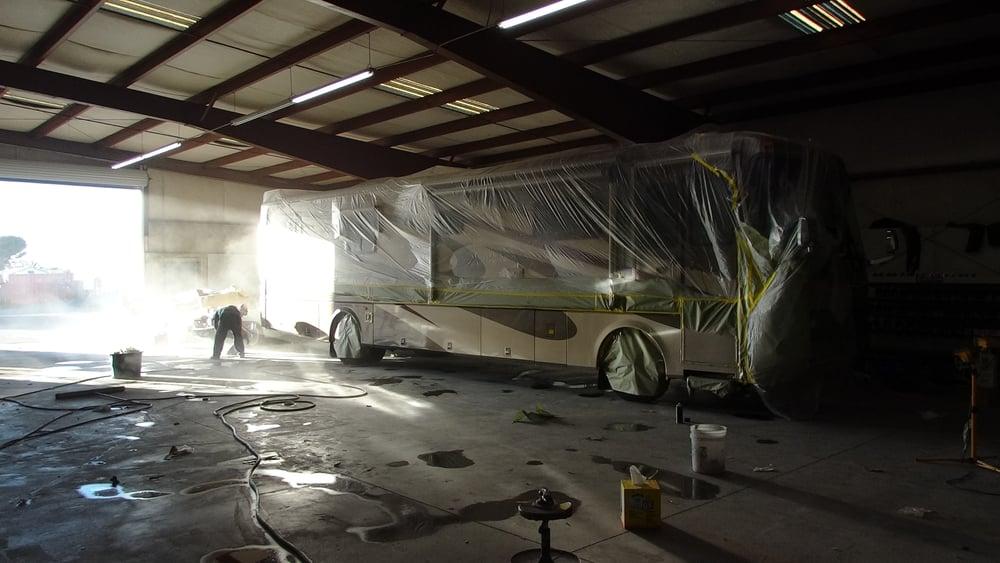 Custom full body paint jobs rv fifth wheel stacker for Full body paint job