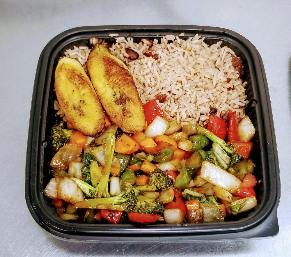 Food from Mango Jamaican-American Cuisine