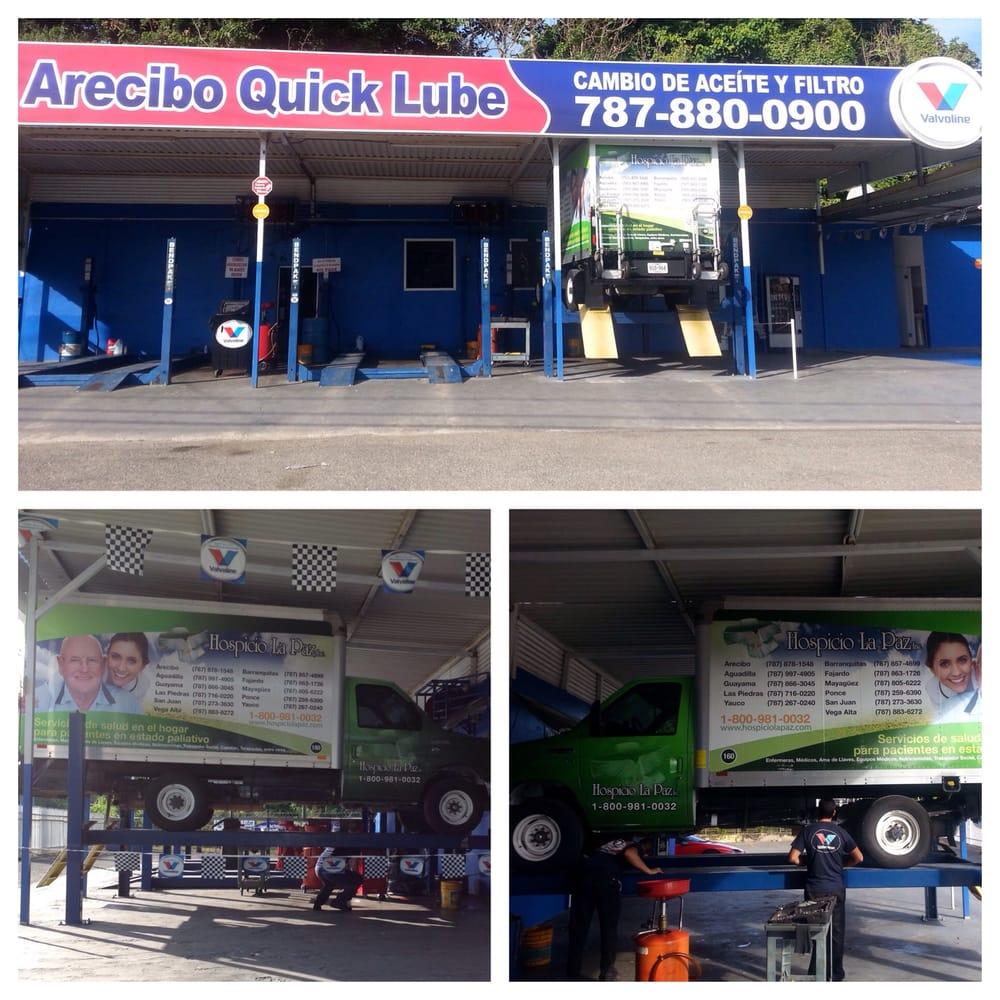 Arecibo Quick Lube: PR #2, km 68,2, Arecibo, PR
