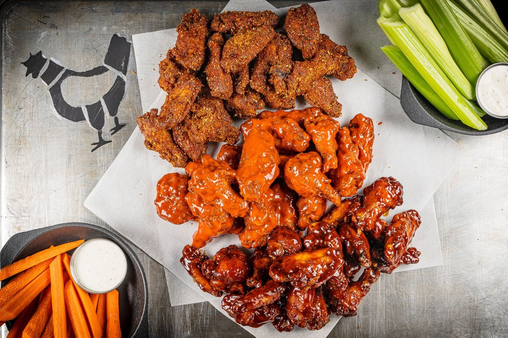 Food from Wing Squad