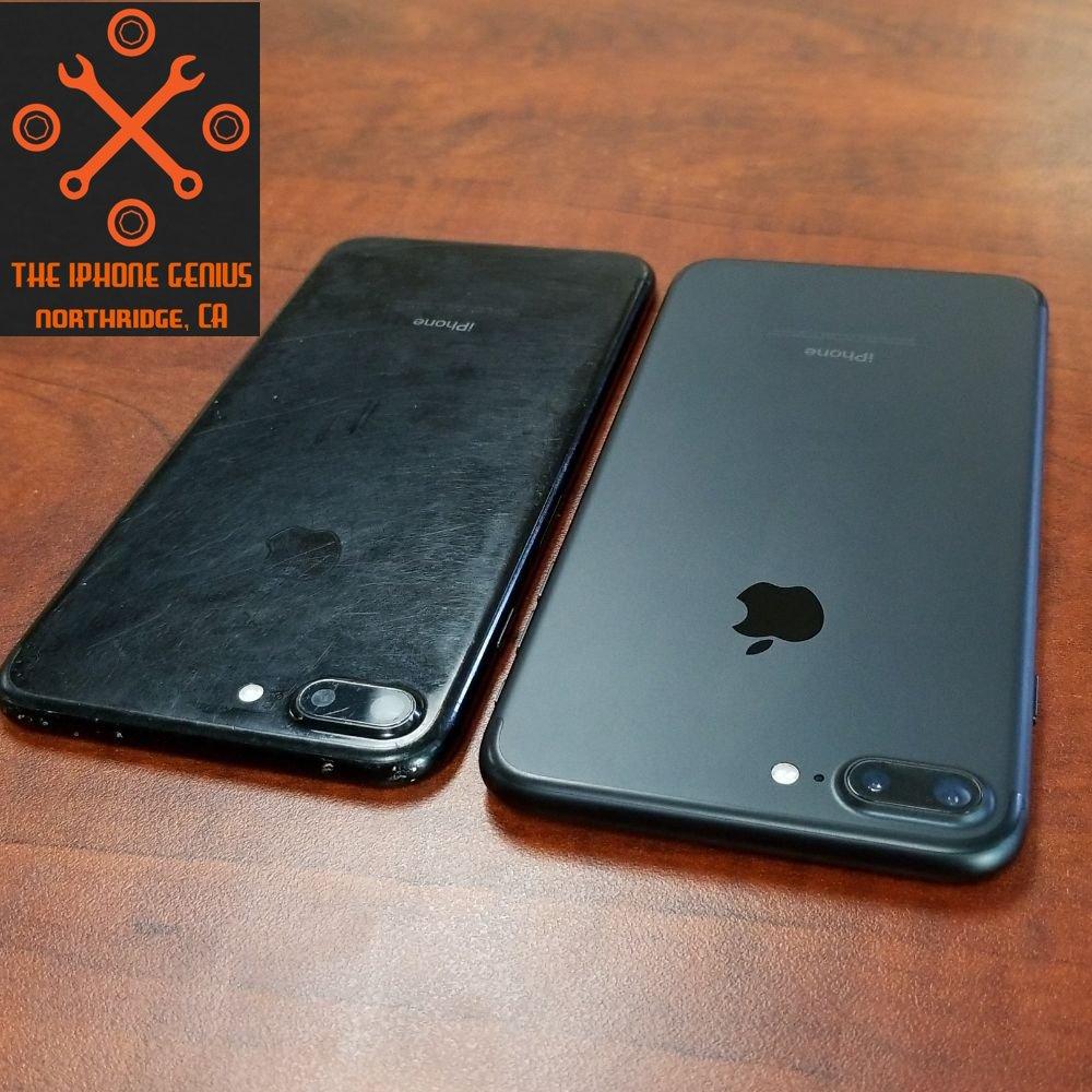 various colors ed30a a78b3 iPhone 7 Plus Housing Swap Scratched Jet Black - Black - Yelp