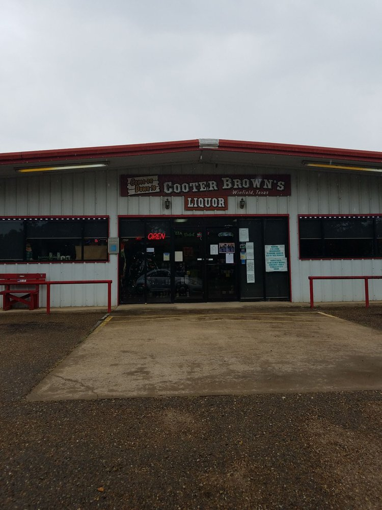 Cooter Brown's: 101 Cleveland St, Winfield, TX