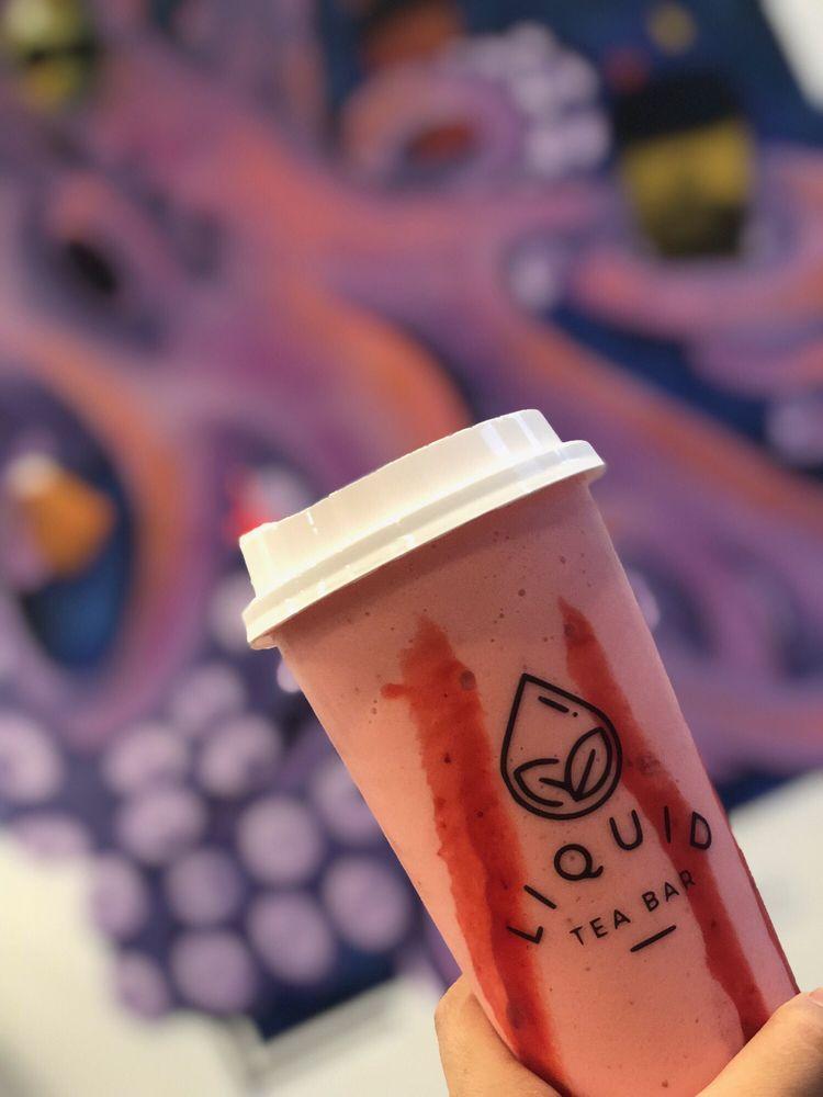 Liquid Tea Bar: 4414 University Pkwy, San Bernardino, CA