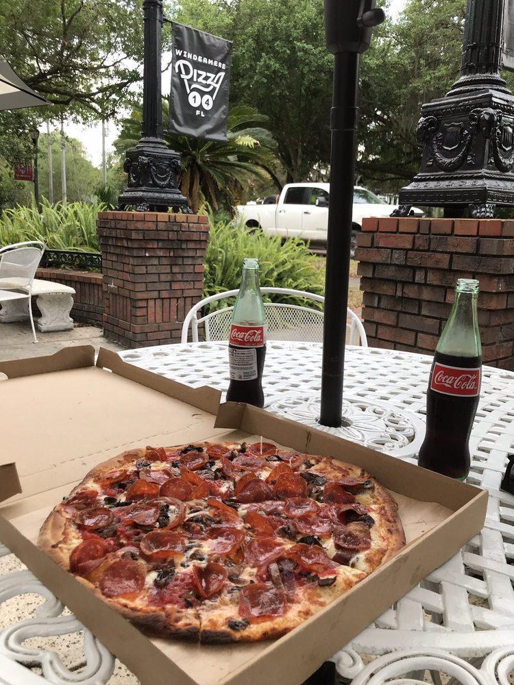 Pizza 14: 625 Main St, Windermere, FL