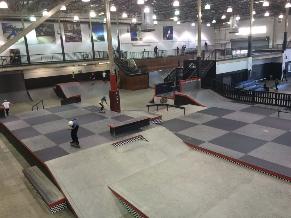 vans skate park a place i 39 reviews of vans skatepark my 7-year-old daughter is a beginner skater   pads and shoes tooskate park is hugelove the selection of this place boy it.