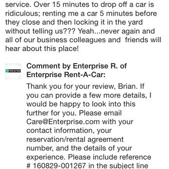 enterprise car rental agreement