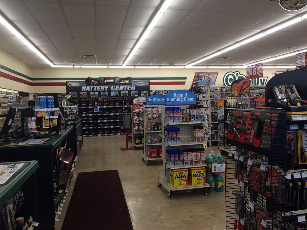 O'Reilly Auto Parts: 33751 Hwy 12 W, Durant, MS