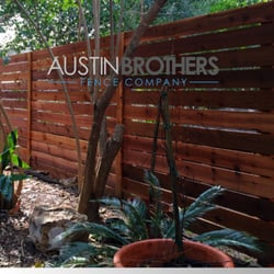 Backyard Fence Company austin brothers fence company - 202 photos & 62 reviews - fences