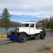 Our 1932 Chevy On Photo Of Filling Station Lebanon Or United States 1931 Chevrolet Tow Truck