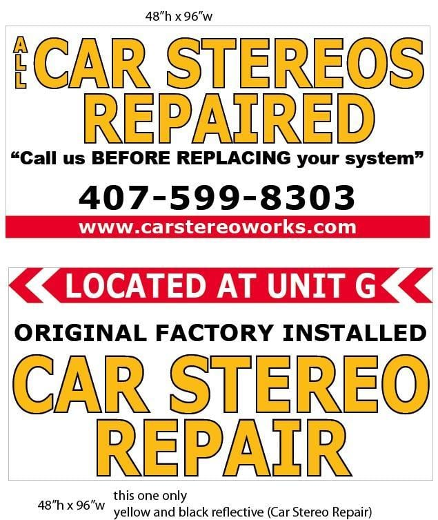 All Car Stereos Repaired - Car Stereo Installation - 1200