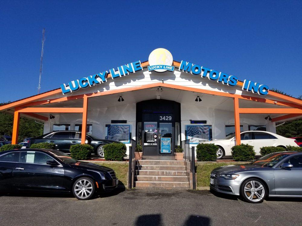 lucky line motors 20 photos 30 reviews car dealers 3429 jefferson davis hwy. Black Bedroom Furniture Sets. Home Design Ideas
