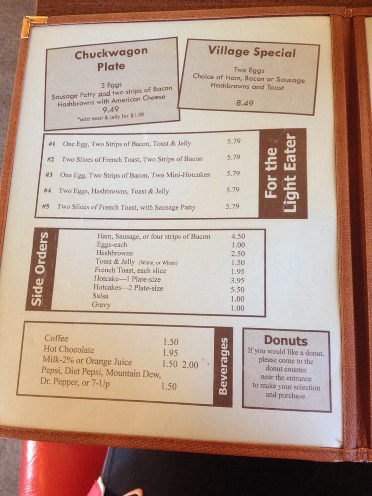 Village Cafe and Daylight Donuts: 515 W Ramshorn St, Dubois, WY