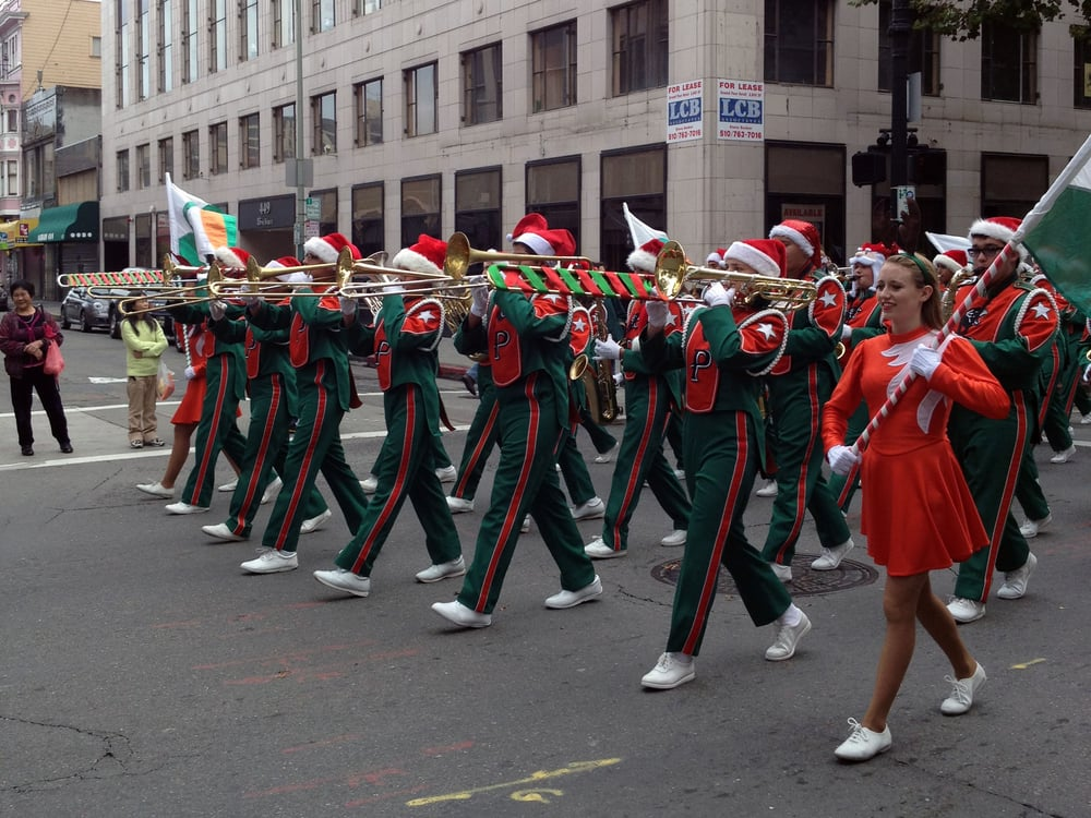 Oakland Holiday Parade: Broadway And 11th St, Oakland, CA