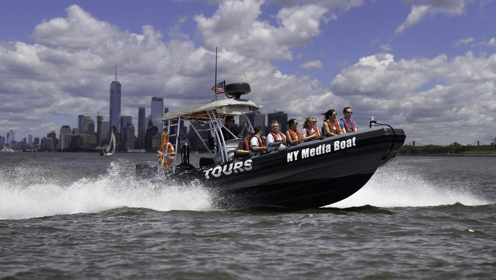 New York Media Boat / Adventure Sightseeing Tours: 225 Liberty St, New York, NY