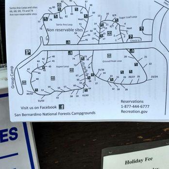 Campground map. The entire Santa Ana loop is non reservable ... on huntington beach map, john wayne airport map, san francisco map, los angeles map, rancho santa margarita map, las vegas map, los robles map, rancho blanco map, la saladita map, rancho santa fe map, sacramento map, caborca map, downieville map, fresno map, oakland map, rancho mission viejo map, east compton map, south andros map, bakersfield map, el golfo de santa clara map, san diego map, anaheim map, san pablo map, laguna beach map, san jose map, playa santa teresa map, la frontera map, woodlake map,