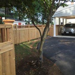 Photo Of Sudbury Cedar Fence Ma United States Board Topper Stow