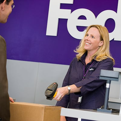 FedEx Ship Center: 6143 James S Mcdonnell Blvd, Berkeley, MO