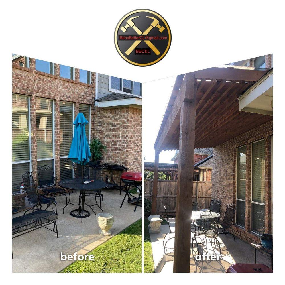 Ben's Better Construction & Landscaping: 1072 W Sherman Dr, Aubrey, TX