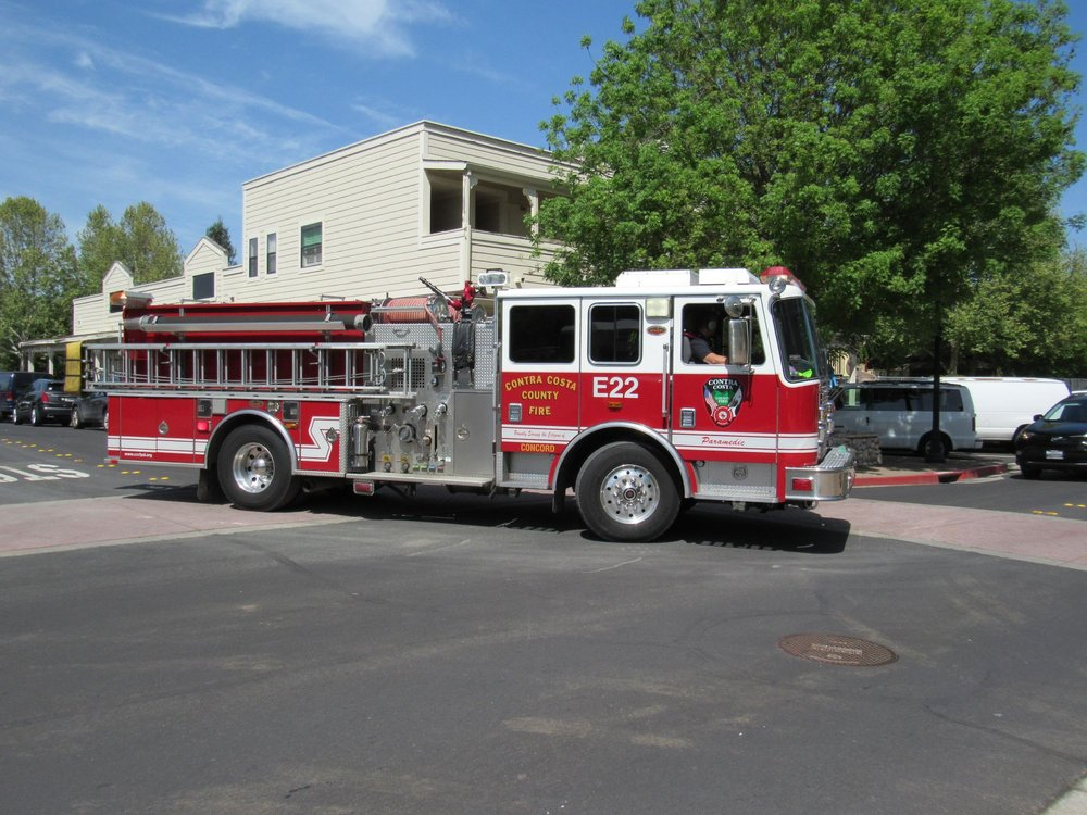 contra Costa county fire station 11: 6500 Center St, Clayton, CA
