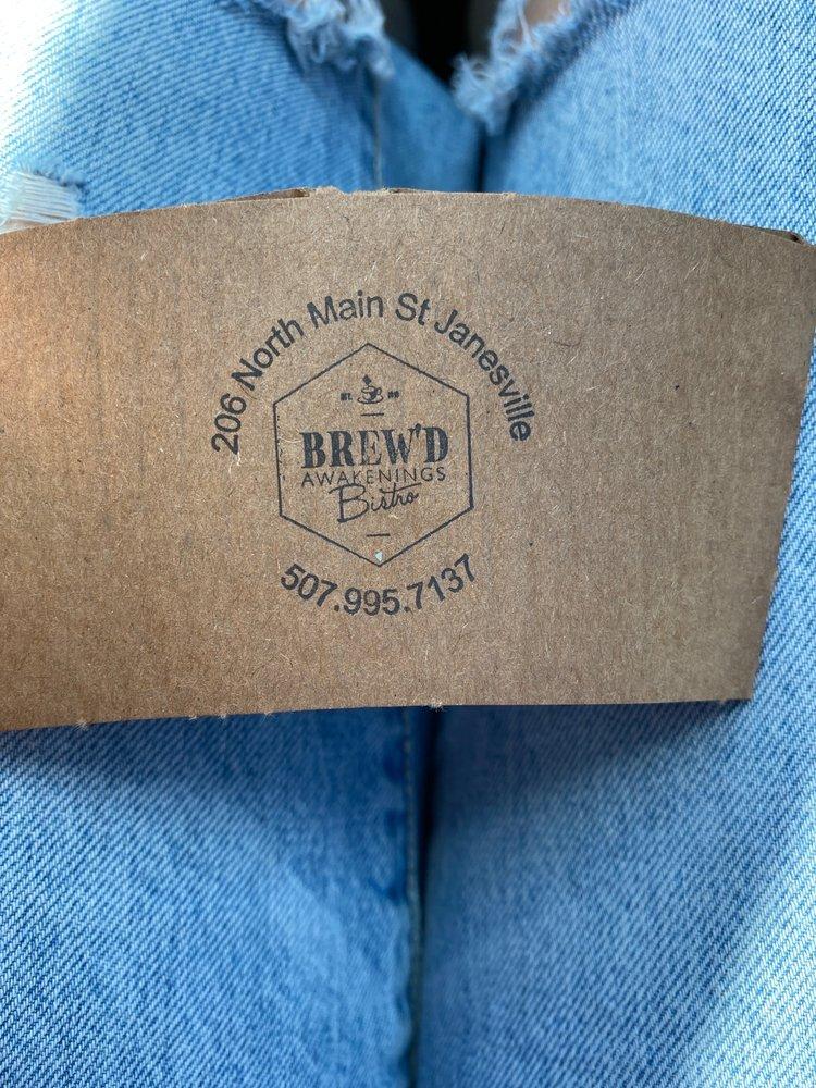 Brew'd Awakenings Bistro: 206 N Main St, Janesville, MN
