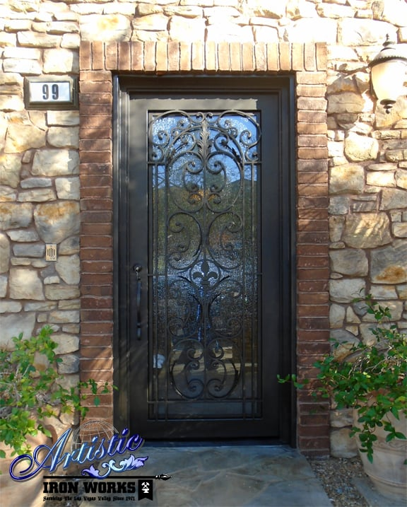Wrought Iron And Glass Grand Entry Door GE0206 Yelp