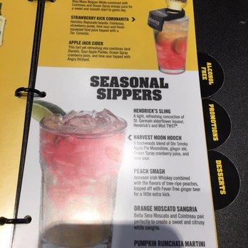 buffalo wild wings drink menu pdf
