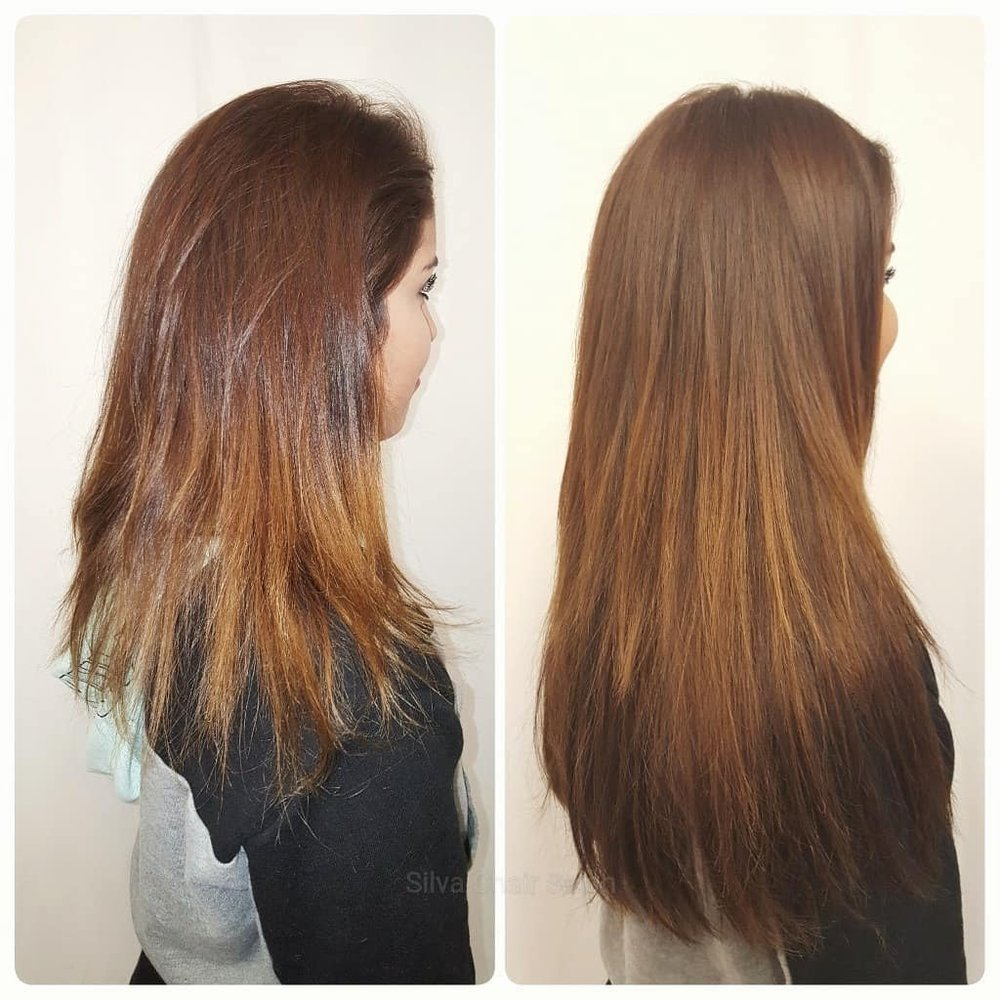 Hair Extensions To Hide Damage And Add Length 1 Of 2 Yelp