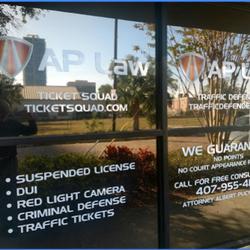 The Ticket Squad - DUI Law - 501 N Magnolia Ave, Lake Eola