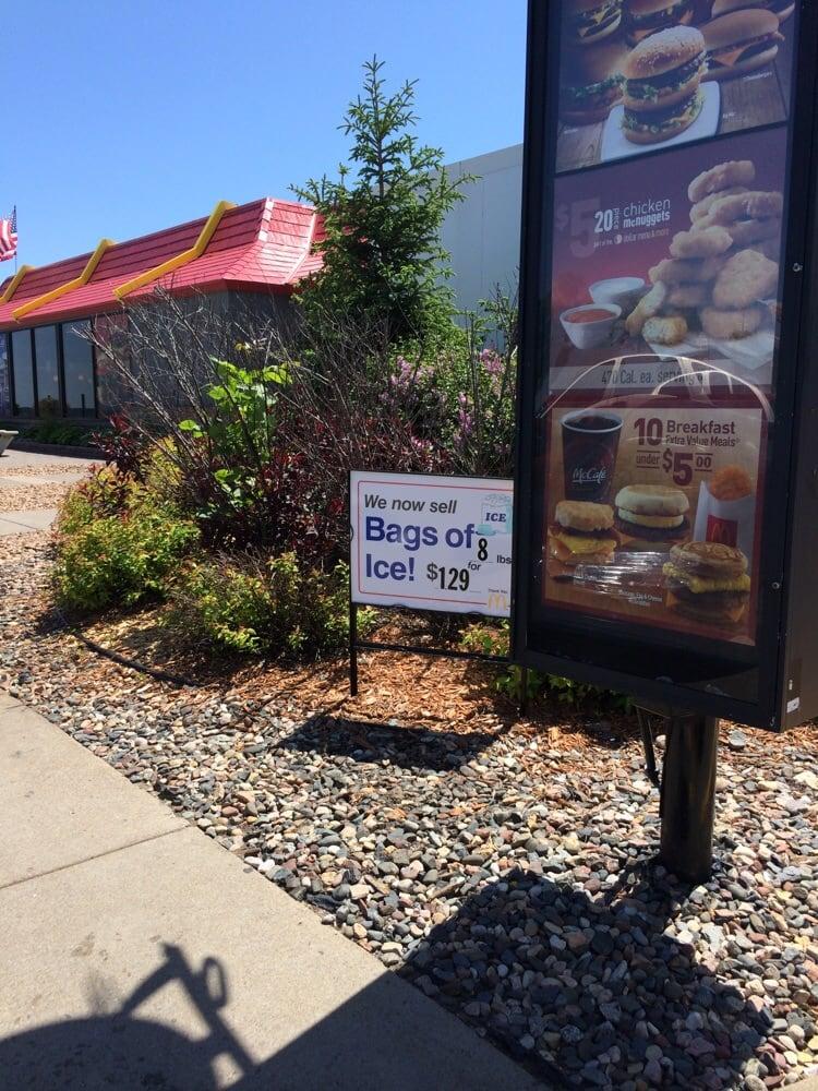 McDonald's: 1351 Town Centre Dr, Garrison, MN