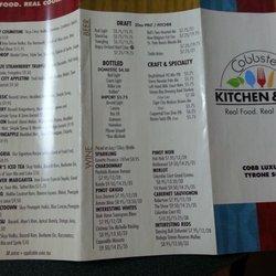 Cobbster S Kitchen Bar Dinner Theater 2998 Tyrone Blvd N Tyrone S
