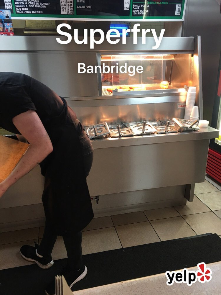 half off 85694 cd676 Superfry - Fish & Chips - 5 Scarva Street, Banbridge ...