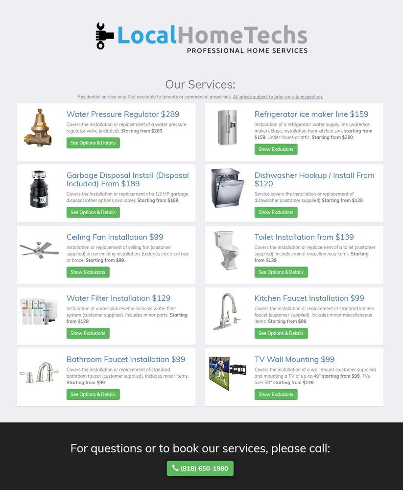 Local Home Techs - Plumbing - 17412 Ventura Blvd, Encino, Encino, CA ...