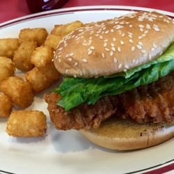Photo Of Huddle House Cuba Mo United States En Sandwich With Tater