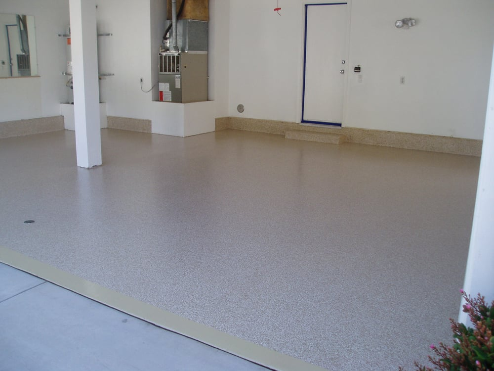 High Quality Spartaflex Polyaspartic Garage Floor Coating Color Is