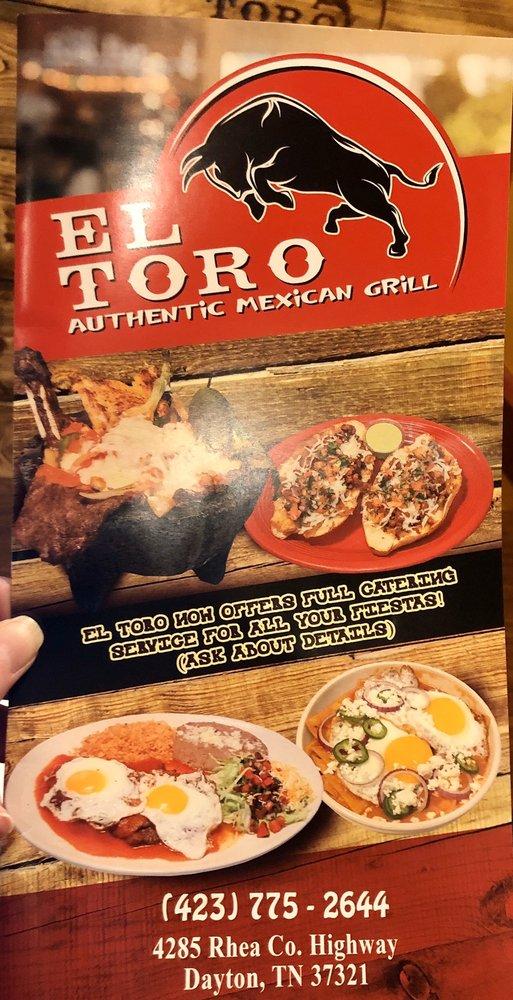 El Toro: 4285 Rhea County Hwy, Dayton, TN