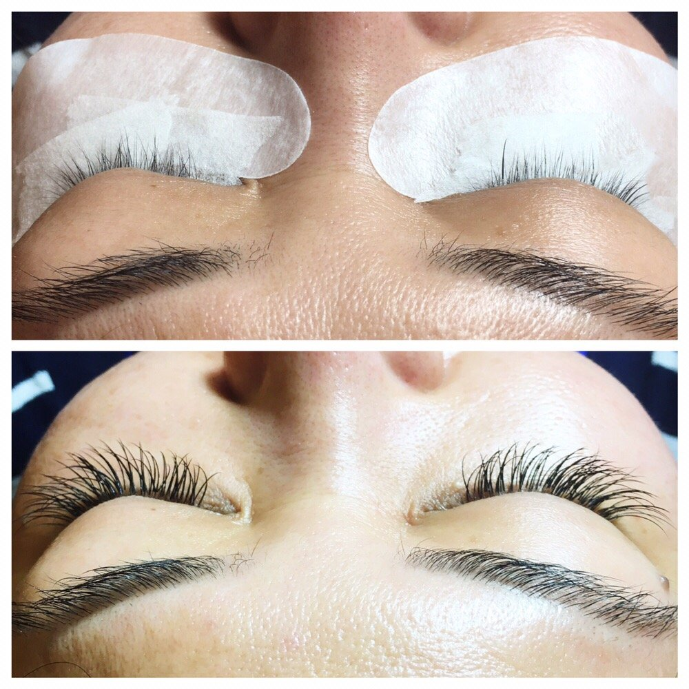 Before And After Classic Set For A Client With Very Short And