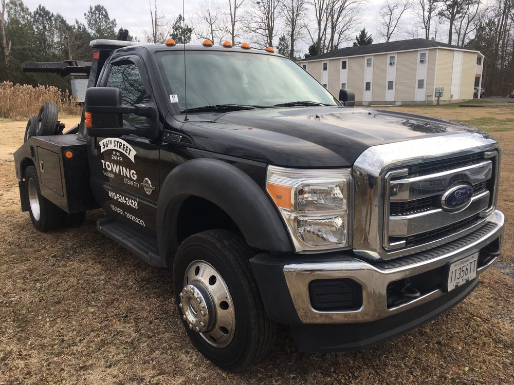 56th St Towing: 1100 Parsons Rd, Salisbury, MD