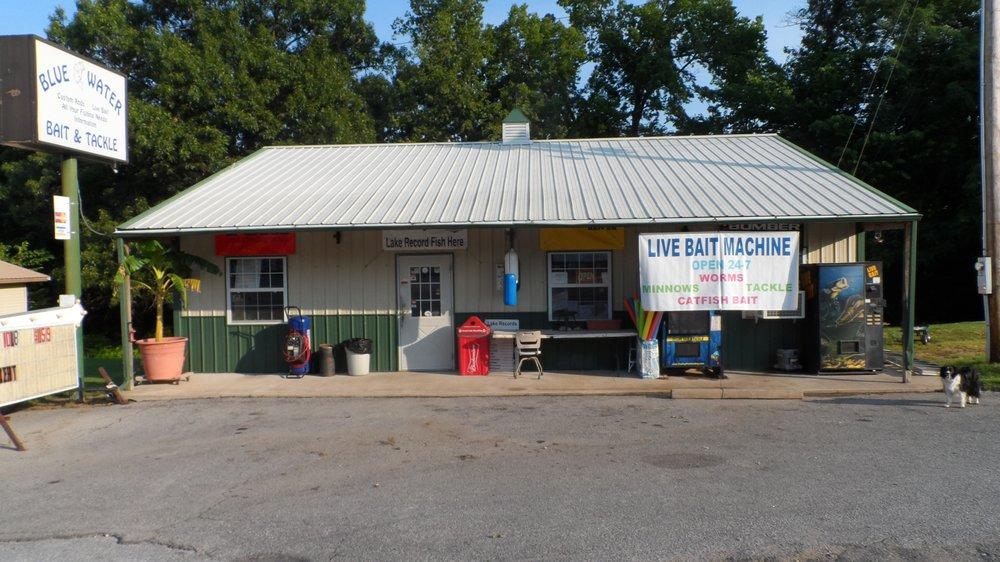 Blue Water Bait & Tackle Store: 235 W Main st, Disney, OK