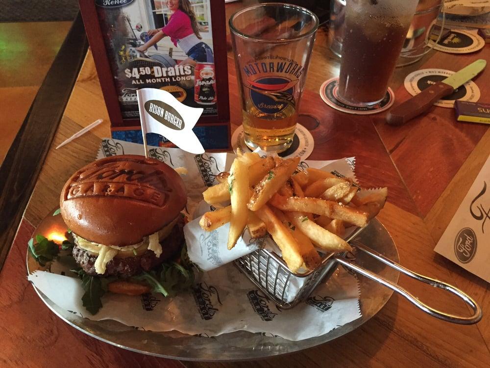 Buffalo Burger With Truffle Fries Yelp